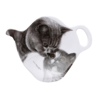 Feline Friends Tea Bag Holder - Mothers Love