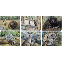 Fauna of Australia - 6 Pack of Placemats