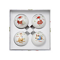 Barney Saves Christmas - 4 Pack Baubles