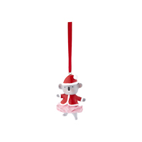 Barney Saves Christmas Hanging Ornament - Koala Mrs Claus
