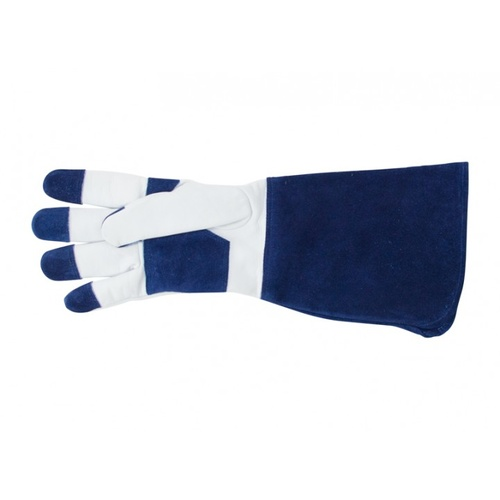 Sprout Long Sleeve Garden Gloves  - Navy