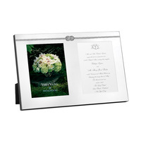 Wedgwood Vera Wang Infinity Double Photo Frame