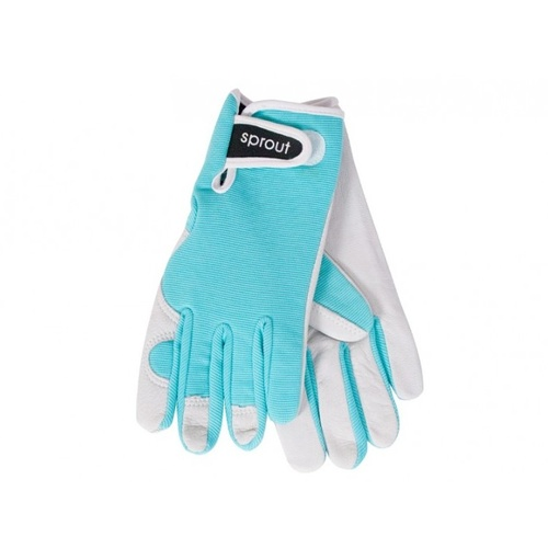 Sprout Goatskin Gloves - Seaspray