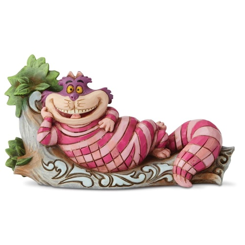 Jim Shore Disney Traditions - Cheshire Cat on Tree The Cat's Meow Figurine