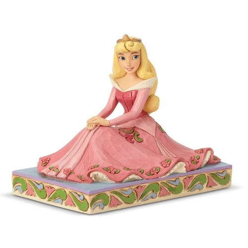 Jim Shore Disney Traditions - Aurora Personality Pose Be True Figurine