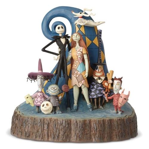 Jim Shore Disney Traditions - The Nightmare Before Christmas Carved By Heart Figurine