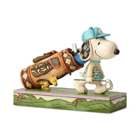 Jim Shore Golf Snoopy And Woodstock - Snoopy's Birdie (Peanuts Collection)