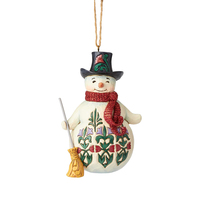 Heartwood Creek Winter Wonderland - Snowman Hanging Ornament