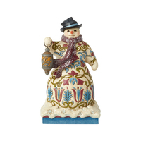 Heartwood Creek Victorian - Snowman with Lantern