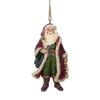 Heartwood Creek Victorian - Victorian Santa Hanging Ornament