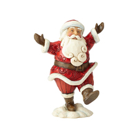Heartwood Creek Classic - Pint Sized Walking Santa - Hooray for the Holidays