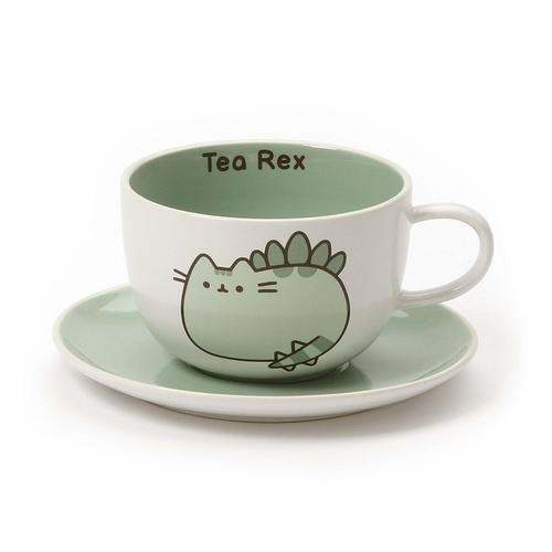Pusheen Teacup And Saucer Set - Tea Rex