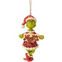 Jim Shore Dr Seuss - Grinch Naughty/Nice Hanging Ornament