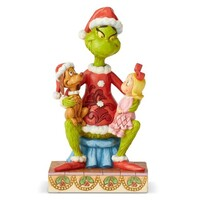 Jim Shore Dr Seuss - Grinch With Cindy & Max