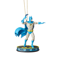 DC Comics by Jim Shore - Batman Silver Age - Dark Knight Detective Hanging Ornament