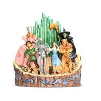 Jim Shore Wizard Of Oz - Carved By Heart - Adventure To The Emerald City