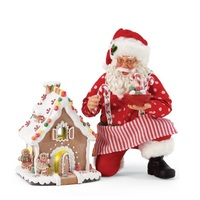 Possible Dreams Clothtique By Dept 56 - Gingerbread House Kit