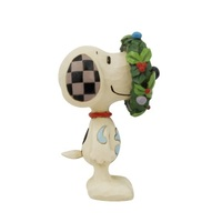 Peanuts by Jim Shore - Snoopy in Wreath