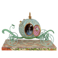 Jim Shore Disney Traditions - Cinderella Carriage - Enchanted Carriage