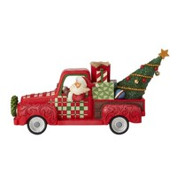 Country Living by Jim Shore - Santa in Red Truck