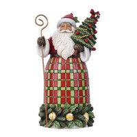 Country Living by Jim Shore - Santa with Tree