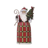 Country Living by Jim Shore - Santa with Tree Hanging Ornament