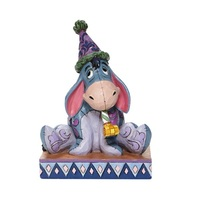 Jim Shore Disney Traditions - Eeyore with Birthday Hat and Horn