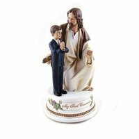 Joseph's Studio My First Communion Musical Figurine - Boy With Jesus