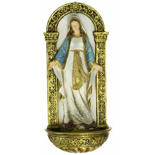 Joseph's Studio Our lady of Grace Holy Water Font