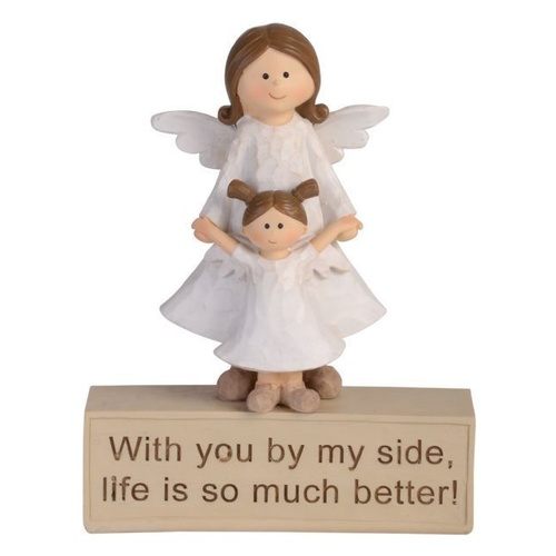 Adoring Angel Figurine - By My Side