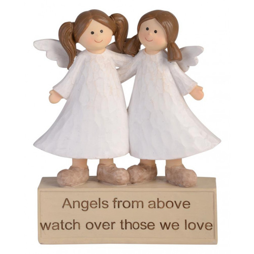 Adoring Angel Figurine - From Above