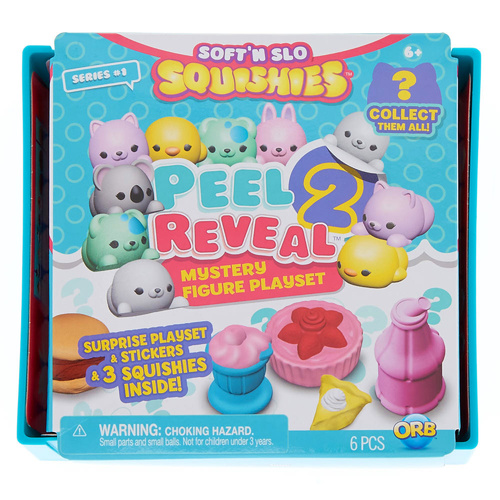 Soft N Slo Squishies Peel 2 Reveal - Series 1