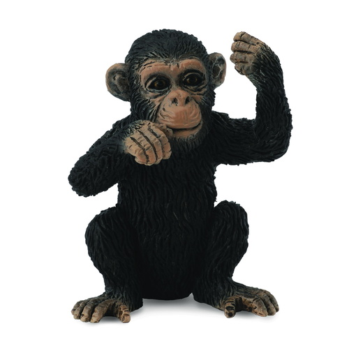 CollectA Wild Life - Chimpanzee Cub - Thinking