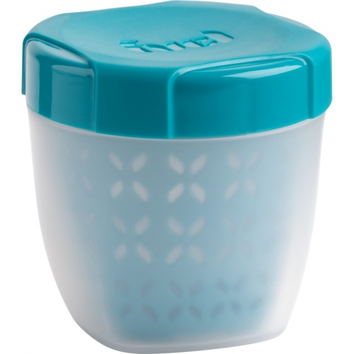Trudeau Fuel Fruit Container - Tropical Blue