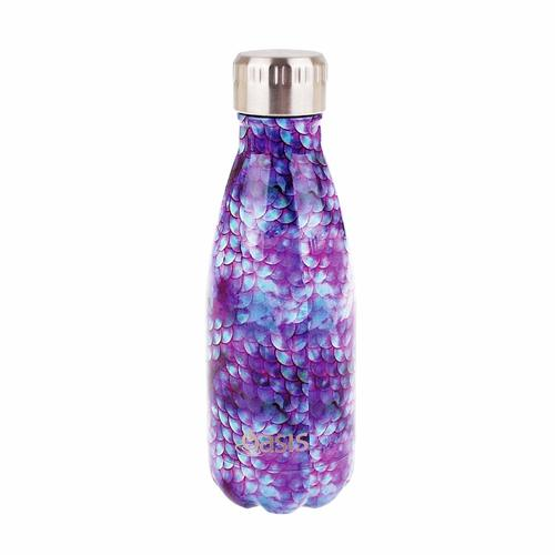 Oasis Insulated Drink Bottle - 350ml Dragon Scales
