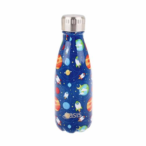 Oasis Insulated Drink Bottle - 350ml Outer Space