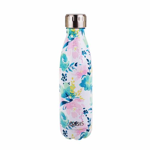 Oasis Insulated Drink Bottle - 500ml Floral Lust