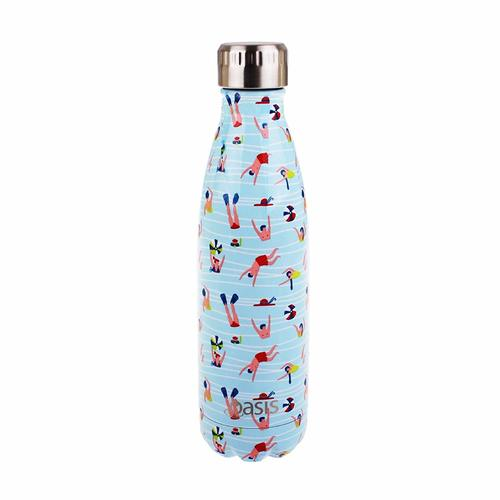 Oasis Insulated Drink Bottle - 500ml Fun in The Sun