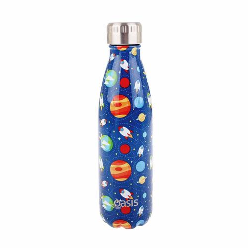 Oasis Insulated Drink Bottle - 500ml Outer Space