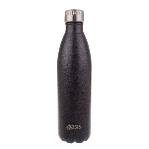 Oasis Insulated Drink Bottle - 500ml Hammertone Grey