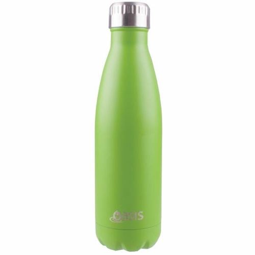 Oasis Insulated Drink Bottle - 750ml Matte Green