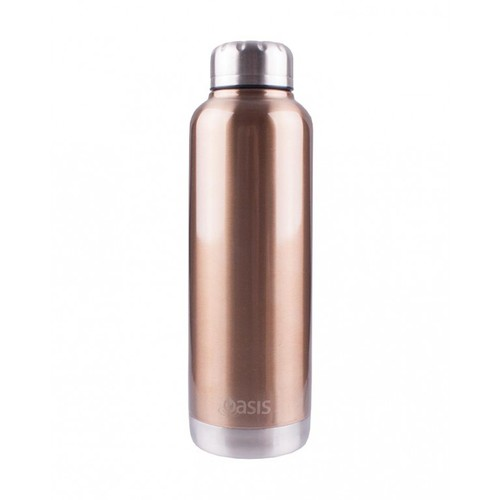 Oasis Insulated Canteen Bottle - 750ml Champagne