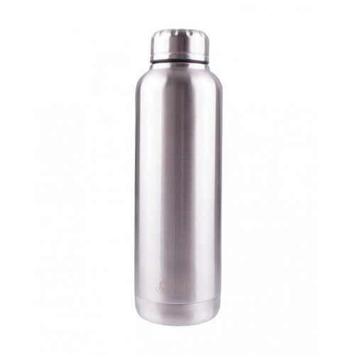 Oasis Insulated Canteen Bottle - 750ml Silver