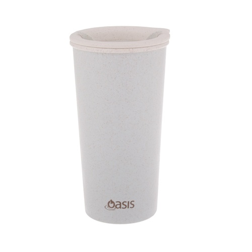 Oasis Insulated Eco Cup with Lid - 400ml Blue