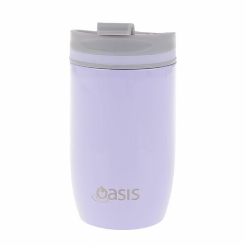 Oasis Insulated Travel Coffee Cup With Lid - 300ml Lilac