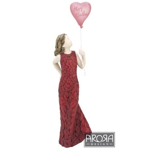 More than words - Happy Birthday Figurine
