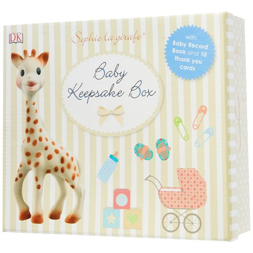 Sophie The Giraffe Book - Baby Record Keepsake Box