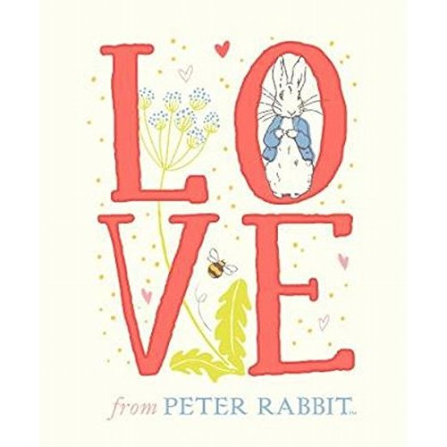 Beatrix Potter Peter Rabbit - LOVE from Peter Rabbit