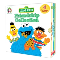 Sesame Street: Friendship Collection Boxed Set (4 Storybooks)