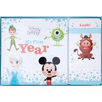 Disney Baby: My First Year Book and Milestone Cards